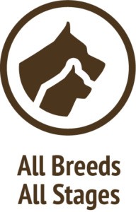 all breeds stages brown icon do only good pet food