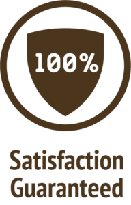 satisfaction guaranteed brown icon do only good pet food