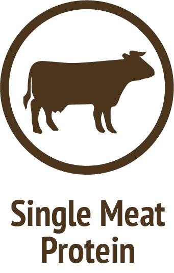 single beef protein brown icon do only good pet food