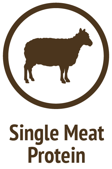 single lamb protein brown icon do only good pet food
