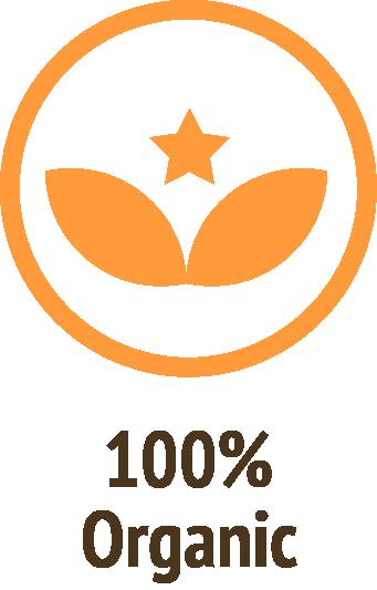 100 percent organic orange icon do only good pet food