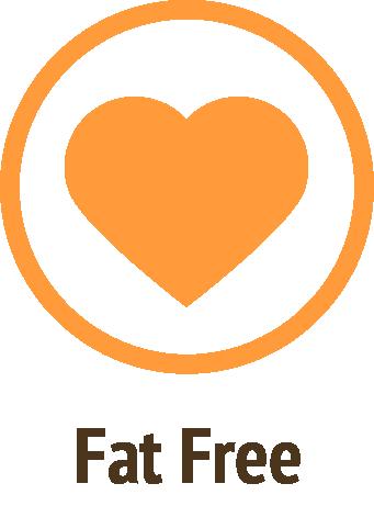fat free orange icon do only good pet food