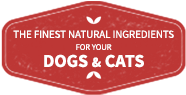 finest natural ingredients dogs cats red icon pumpkin