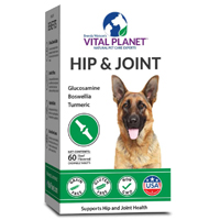 health hip joint dog chewable tablet vital planet