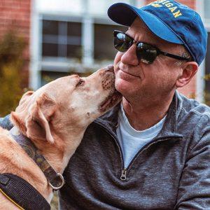lifestyle senior people adopting dogs