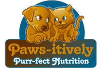 paws itively purr fect nutrition logo
