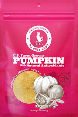 pumpkin supplement antioxidants health nutrition natural do only good pet food