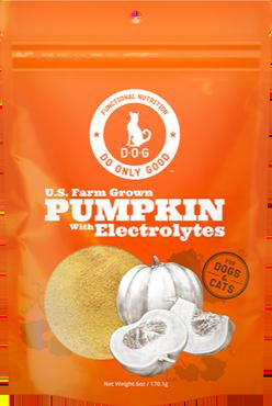 pumpkin supplement electrolytes health nutrition natural do only good pet food