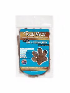 real meat jerky treats fish venison
