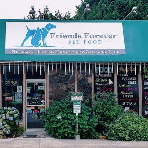 retailer friends forever pet food kirkland washington