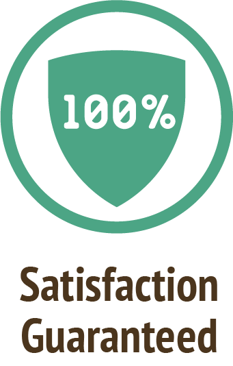 satisfaction guaranteed green icon do only good pet food