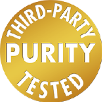 third party purity tested logo