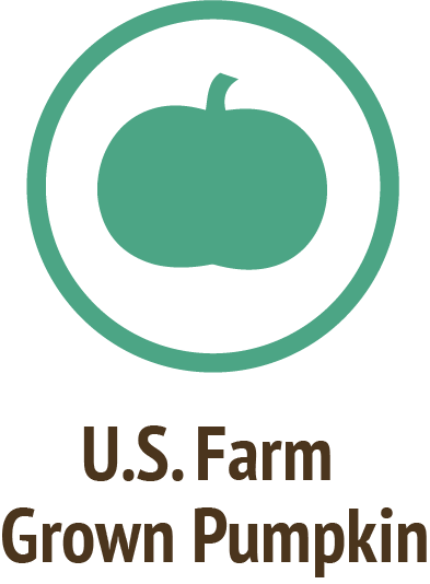 usa farm grown pumpkin green icon do only good pet food