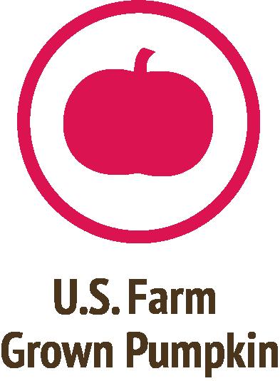 usa farm grown pumpkin pink icon do only good pet food