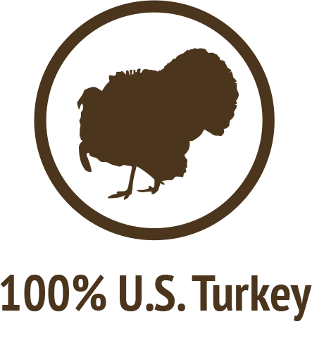 100percent turkey doonlygoodpetfood dogcertfied